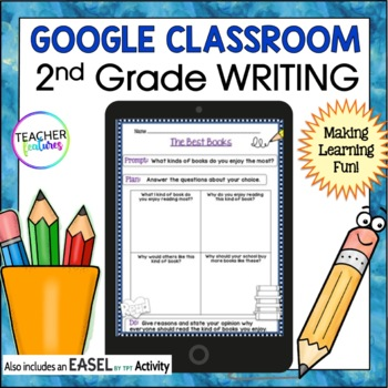 Google Drive 2nd Grade Writing for Google Classroom