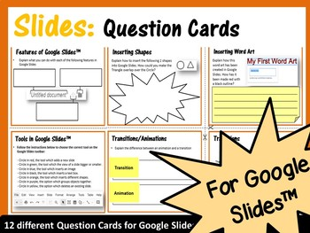 Google Drive 48 Question Cards Bundle: Critical Thinking Skills - Save $4