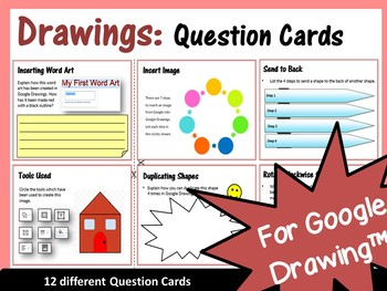 48 Question Cards Bundle: Critical Thinking Skills for Google Drive™ - Save $4