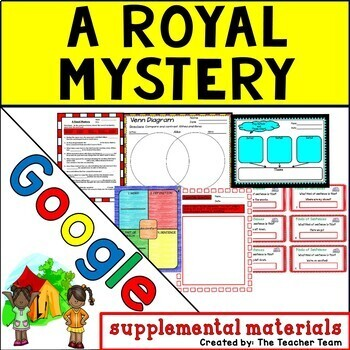 A Royal Mystery Journeys 5th Grade Unit 1 Lesson 2 Google Digital Resource