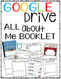Google Drive ALL ABOUT ME Booklet