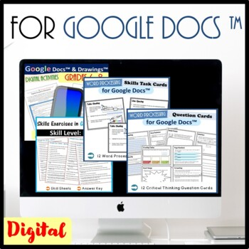 Technology Google Drive Activities and Skills Building Bundle - Save $58.50