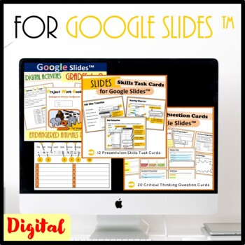 Technology  Activities and Skills Building Bundle for Google Drive™- Save $33