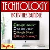 Technology Google Drive Activities and Skills Building Bun