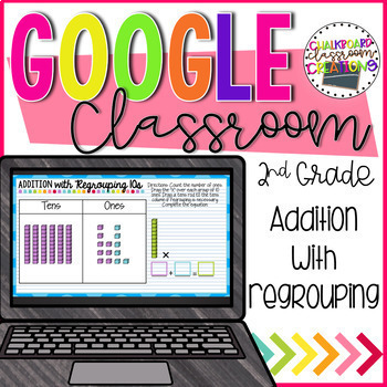 2nd Grade Addition for Google Classroom
