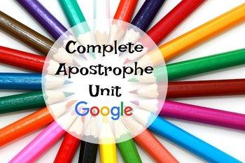 Google Drive Apostrophe unit