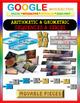 Google Drive BUNDLE: Arithmetic & Geometric Sequences & Series