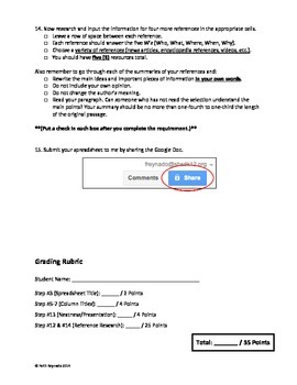 Google Drive Docs Assignment #3
