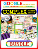 Google Drive BUNDLE: COMPLEX NUMBER SYSTEM (Imaginary Numbers) Distance Learning