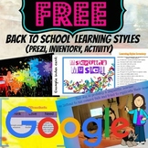 Google Drive: Back to School Learning Styles Inventory Prezi and Handout