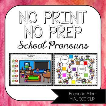 Google Drive™ Back to School Pronouns