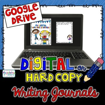 Back to School Writing Prompt Journals for Google Drive