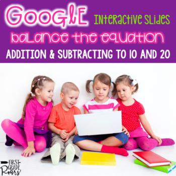 Balance the Equation ~ for Google Drive & Google Classroom