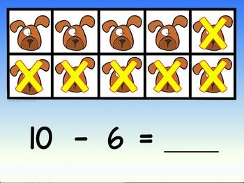 Digital Task Cards for Google Classroom: Base Ten (Dog Theme)