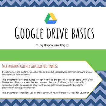 Google Drive Basics: Professional Development for technology newbies