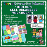 Google Drive Biology Cell Organelle Interactive Notebook for Google Classroom