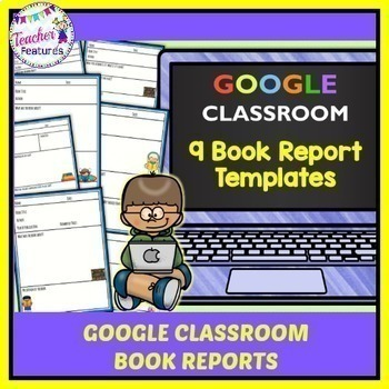 GOOGLE CLASSROOM READING Book Reports Paperless Digital Writing