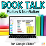 Digital Book Talk Project for Google Slides