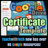 Google Drive Certificate Template Guide