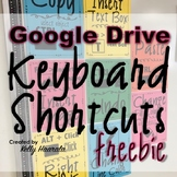 Google Drive Chromebook Keyboard Shortcuts - Free