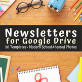 Google Drive Class Newsletter Templates - Editable Slides