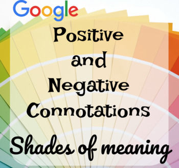 Google Drive: Connotation and Denotation