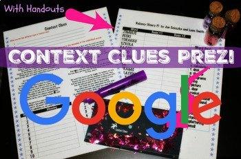 Google Drive: Context Clues Prezi 2