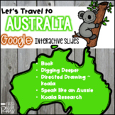 Continent Study: Australia ~ for Google Drive & Google Classroom