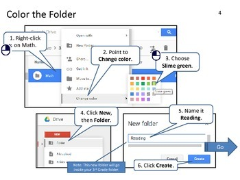 Google Drive: Creating Folders