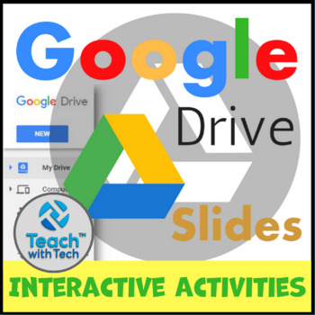 Google Drive Creating Interactive Activities Resources