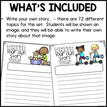 Daily Writing Activities (Digital - USE WITH GOOGLE SLIDES)