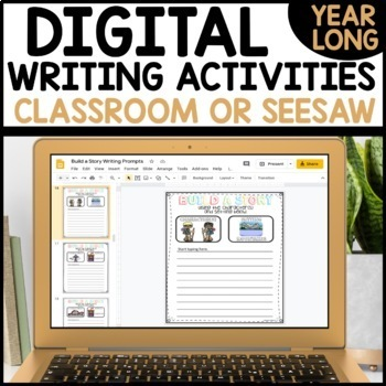 Distance Learning GOOGLE SLIDES Daily Writing Activities GOOGLE CLASSROOM