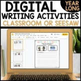 Distance Learning GOOGLE SLIDES Daily Writing Activities G
