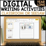 Daily Writing Activities for Google Slides