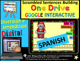 Google Drive December Scrambled Sentences Building Spanish Oraciones Revueltas