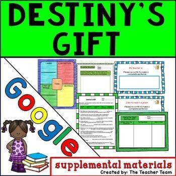 Destiny's Gift Journeys 3rd Grade Unit 1 Lesson 3 Google Digital Resource