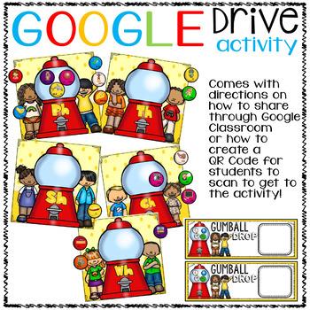 Google Drive Diagraphs (th, sh, ph, ch, wh)