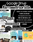 Google Drive Digital Classroom Newsletter