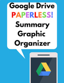 Google Drive Digital Graphic Organizer- Summary Paragraph