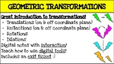 Google Drive Digital Interactive INTRO TO TRANSFORMATIONS Notes