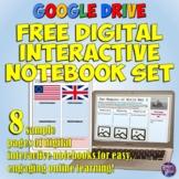 Google Drive Digital Interactive Notebook Pack