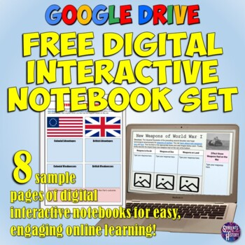 Google Drive Digital Interactive Notebook Pack