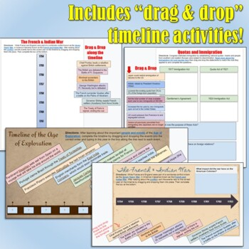 Digital Interactive Notebook Pack for Google Drive