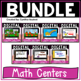 Google Drive Digital Math Centers for use with Google Classroom & Google Slides