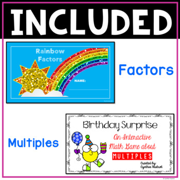 Multiplication and Division Math Centers for Google Classroom BUNDLE