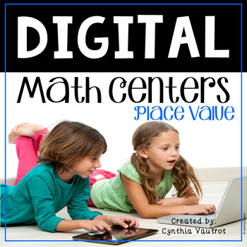 Digital Math Centers for use with Google Classroom & Google Slides