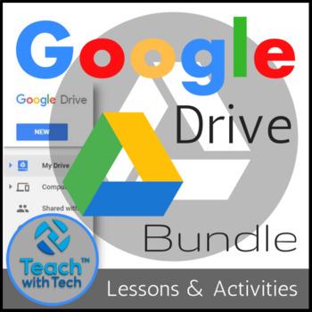 Google Drive Lessons & Activities Bundle
