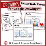 Drawings Task Cards - for Google Drawings™