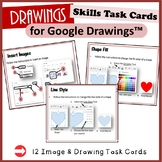 Skills Task Cards for Google Drawings™