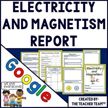 Google Drive Electricity and Magnetism Report for Google C